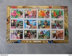 Bloc Feuillet Neuf Guinée 2006 : Cinquantenaire Du Timbre Europa - Europa-CEPT