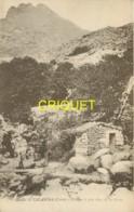 Corse, Moulin De Calasima, Homme Sur La Passerelle...., éd Moretti - Other Municipalities