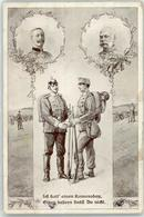 52998353 - Kaiser Franz Josef I. Kaiser Wilhelm II. - Weltkrieg 1914-18