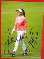 Sandra Gal   Signed Photo - Autographes