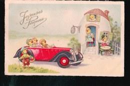 LOT080.....20 CPA PAQUES ...LES POUSSINS - Cartes Postales