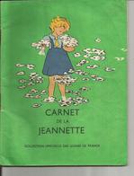 CARNET DE LA JEANNETTE  1948  Illustration JACQUELINE DENVIL - Religion