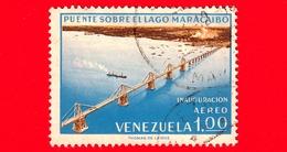VENEZUELA - Usato - 1963 - Inaugurazione Del Ponte Sul Lago Di Maracaibo - 1.00 - Venezuela