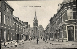 Cp Renaix Ostflandern, Rue De L'Église - Belgique