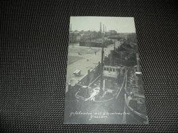 Nederland ( 1723 ) Holland  Noord - Holland  :   Ijmuiden  Ijsfabrieken Met Stoomtrawlers - IJmuiden
