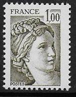 Sabine N° 2057a ** - Sans Phosphore  - Cote : 15 € - 1977-81 Sabine Of Gandon