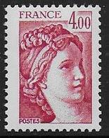 Sabine N° 2122a ** - Sans Phosphore.  - Cote : 80 € - 1977-81 Sabine Of Gandon