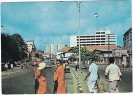 Colombo: MORRIS MINOR 1000, VW T1-BUS, TRUCKS - Street Scene - (Sri Lanka) - Toerisme