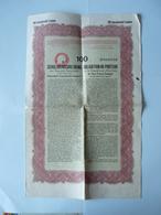 Obligation Au Porteur  De La République D'autriche  De Cent Francs Français  No 096040   1926 - Actions & Titres