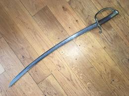 SABRE REGLEMENTAIRE FRANÇAIS D'OFFICIER MODELE 1821 MANUFACTURE DE SOLINGEN - Knives/Swords