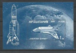BULGARIA YVERT  H/B 157   MNH  ** - Corréo Aéreo