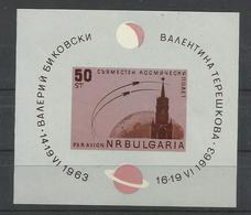 BULGARIA YVERT  H/B 10  MNH  ** - Corréo Aéreo