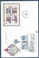 France FDC - Premier Jour - YT N° 2700 à 2703 - Grand Format - 1991 - FDC