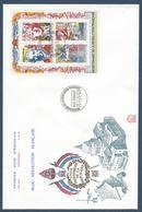 France FDC - Premier Jour - YT N° 2667 à 2670 - Grand Format - 1990 - FDC