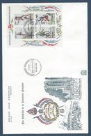 France FDC - Premier Jour - YT N° 2592 à 2595 - Grand Format - 1989 - FDC