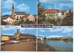 AK-30419 -   Theley Saar - Krs. St. Wendel  - Mehrbild (4) - Kreis Sankt Wendel