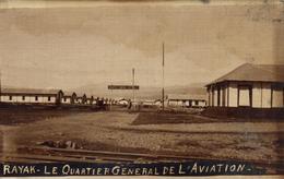 Rayak - Quartier Général De L'aviation - Lebanon