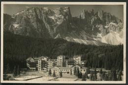 Carezza - Hotel Carezza Con Latemar 1932 - Italia
