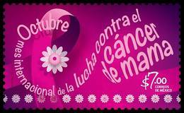 2017 MÉXICO Octubre, Mes De  Lucha Contra Cáncer De Mama SALUD MNH OCTOBER  MONTH OF THE FIGHT AGAINST BREAST CANCER - México