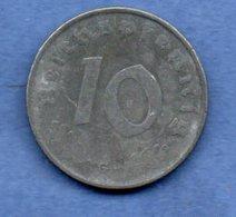 Allemagne --  10 Reichspfennig  1940 G  - Km # 101  - état  TB+ - [ 4] 1933-1945 : Third Reich