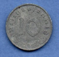 Allemagne --  10 Reichspfennig  1943 A  - Km # 101  - état  TB+ - [ 4] 1933-1945 : Third Reich