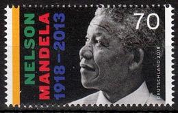 Bund MiNr. 3404 ** 100. Geburtstag Von Nelson Mandela - BRD