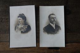 Aalst 1912 2 Doodsprentjes Foto Eeman / Delaroyere - Religion & Esotérisme