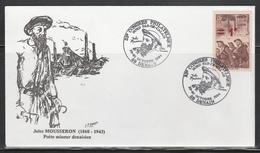 OBLIT. ILLUSTRÉE CONGRES DENAIN 10/94 - Jules MOUSERON POÈTE MINEUR - Poststempel (Briefe)