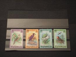 TUVALU - 1978 UCCELLI 4  VALORI - NUOVI(++) - Tuvalu