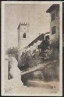 CASTELLO DI ROVERETO - ACQUARELLO - MUSEO STORICO DI GUERRA - FORMATO PICCOLO - VIAGGIATA DA  FOLGARIA 21.12.1922 - Castelli
