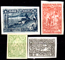 Armenia-013 - Valori Del 1921-22 (++/+) MNH/LH - Senza Difetti Occulti. - Armenia