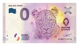 0 Euro Billet Souvenir Slovaquie 2019 - MALKIA PARK - ZOO - Autres