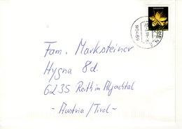 Auslands - Brief Von 80469 München Mit 90 Cent Blumen 2019 - [7] République Fédérale
