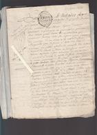 Acte Notarié / 1786 Boulanger à Gometz La Ville / 1794 / 1777 Minerval - Vieux Papiers