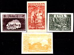 Armenia-014 - Valori Del 1921-22 (+) LH - Senza Difetti Occulti. - Armenia