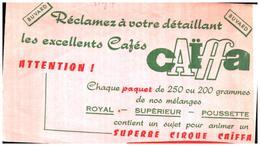 """C C/Buvard """"Café Caïffa """" (N=2) - Coffee & Tea"""