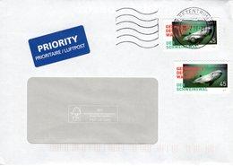 Auslands - Brief Von Briefzentrum 79 Mit 2 X 45 Cent Schweinswal 2019 - BRD