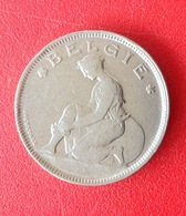 Monnaie. 28. Belgie. Goed Voor 2 Francs. 1924 - 1909-1934: Albert I
