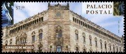 2017 MÉXICO PALACIO POSTAL, ARQUITECTURA MNH Post Office, BUILDING  ARCHITECTURE POST OFFICE - México
