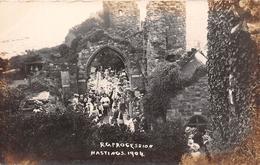 ¤¤    -  ROYAUME-UNI  -  HASTINGS   -  Carte-Photo   -  Procession En 1904    -  ¤¤ - Hastings