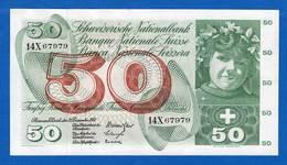50  Fr  Du  21/12/1961  Sup - Switzerland