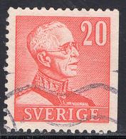 Schweden, Mi 258IIDr, König Gustaf V. Nach Rechts - Usati