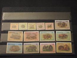 UGANDA - 1979 FAUNA 14 VALORI - NUOVI(++) - Uganda (1962-...)