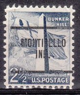 USA Precancel Vorausentwertung Preo, Locals Indiana, Monticello 259 - Vorausentwertungen