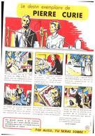 """S S A/Buvard Sécurité Sobriété Info Alcolisme """"Pierre Curie""""  (Santé Sobriété) (N=6) - Buvards, Protège-cahiers Illustrés"""
