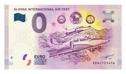 0 Euro-Schein Souvenir Slowakei 2018 - SIAF Sliac - EURO