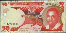TANZANIA - 50 Shilingi Nd.(1992) XF+ P.19 - Tanzania