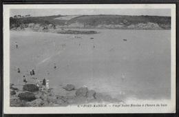 CPA 29 - Port-Manech, Plage Saint-Nicolas à L'heure Du Bain - France