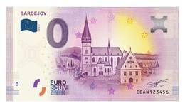 0 Euro-Schein Souvenir Slowakei 2018 - Bardejov - EURO
