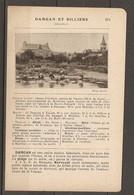 1921 DAMGAN Et BILLIERS CHEMIN DE FER RESEAU D'ORLEANS RESEAU DU MORBIHAN - AMBON MUZILLAC - Chemin De Fer